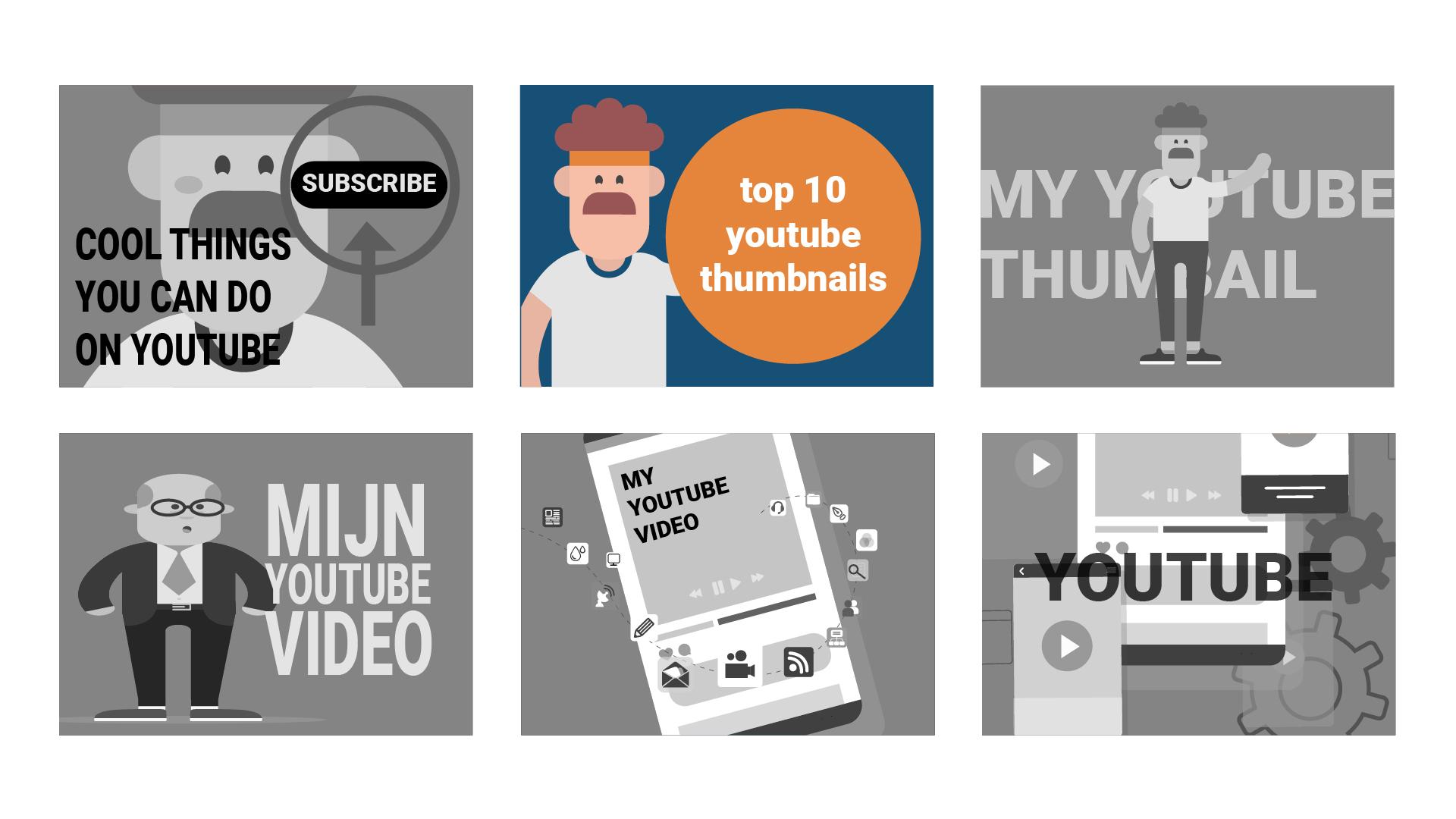 Voorbeeld van een opvallende thumbnail om meer views op YouTube te scoren.